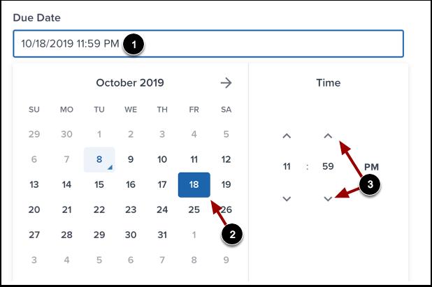 Add Due Date