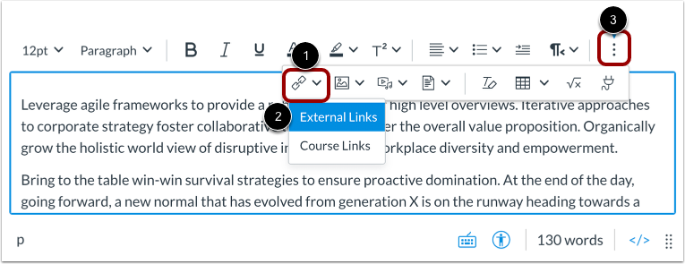 Create Hyperlink from Toolbar