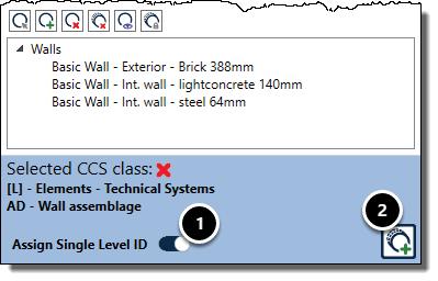 Classification window