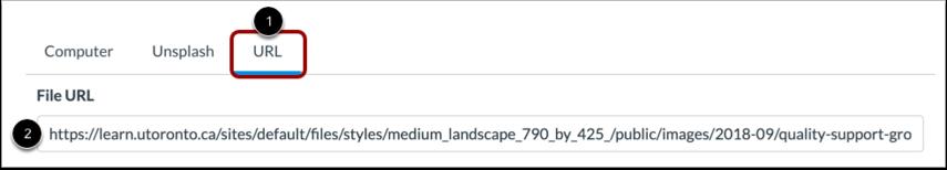 从 URL 上传图像