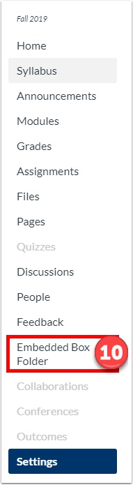 Refresh your page and you will see the link in your course navigation.