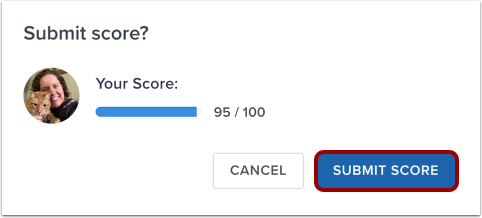 Confirm Score