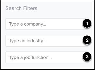 Filter Jobs
