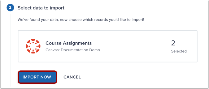 Import Assignments