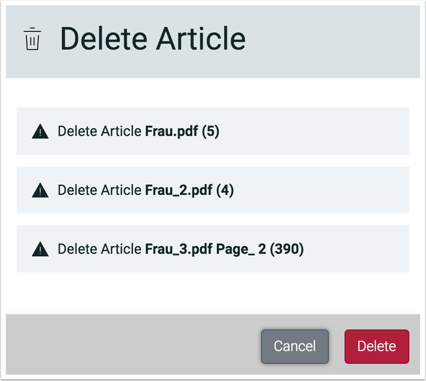 Impose Editor - Delete Articles - 1.7.6