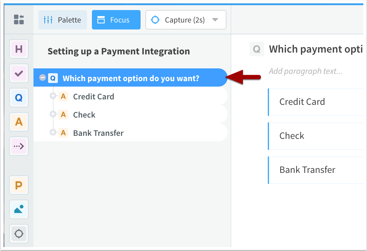 Setting up a Payment Integration