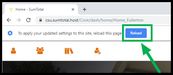 Image showing Reload option