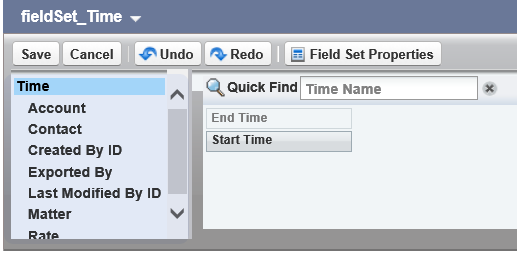 Choose from the available associated object fields