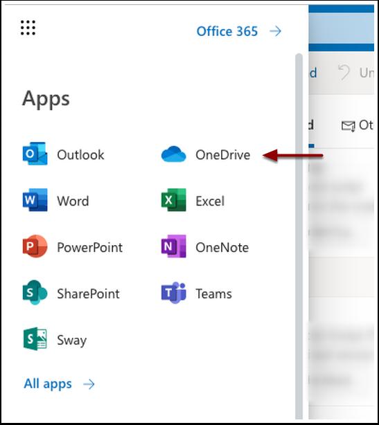 OneDrive app