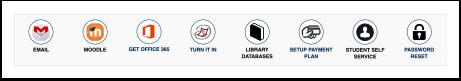 mySCC quick links icons