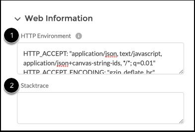 View Web Information