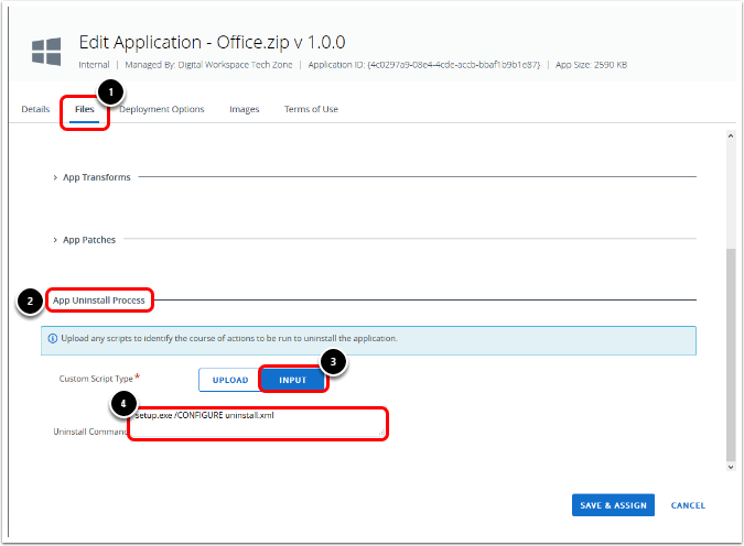 Configure the Files Tab for Office 365