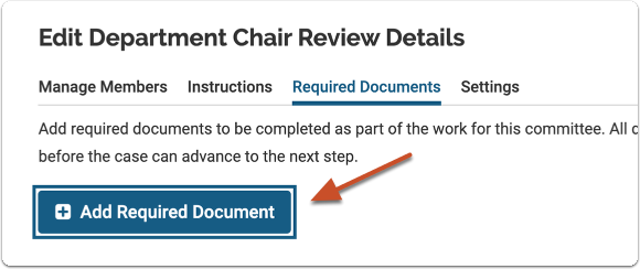 Edit Case Review Step - Review, Promotion & Tenure - Interfolio