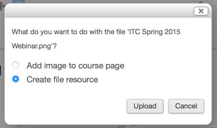 file resource choice window