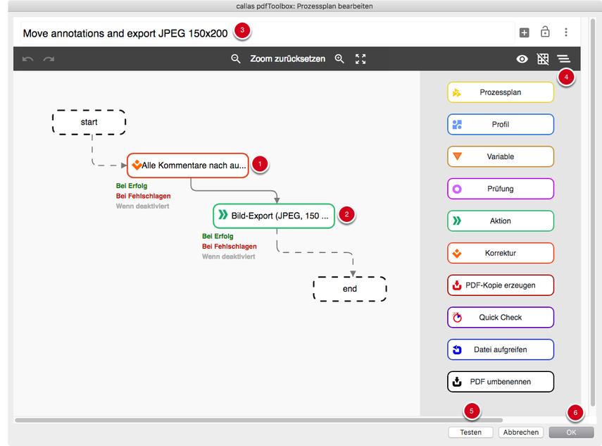 Prozessplan erstellen und einrichten