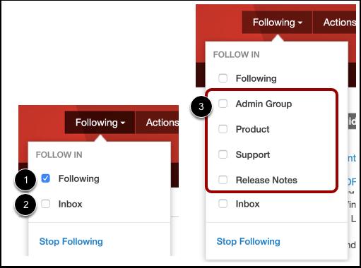 Following Checkbox Options