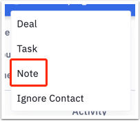 Select Note