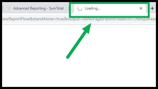 Loading screen tab