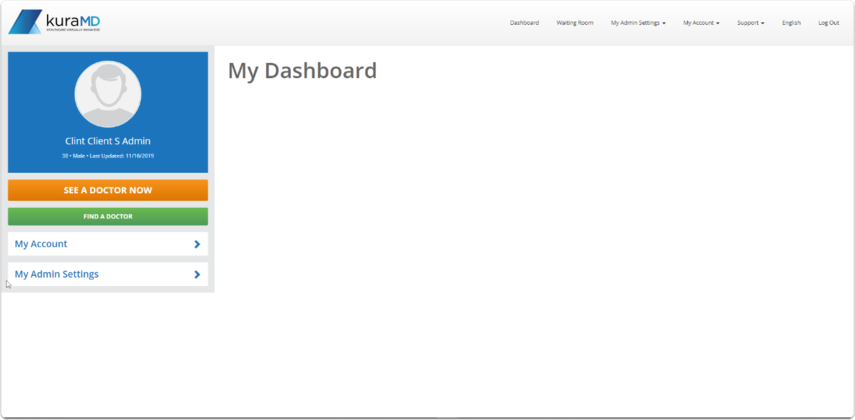 Claims admin Dashboard
