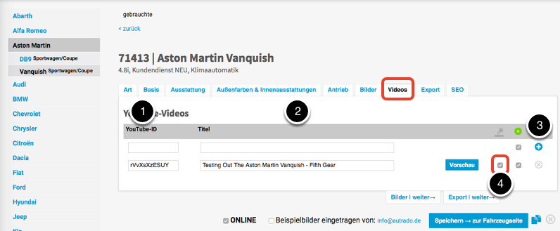 You-Tube-Video verlinken