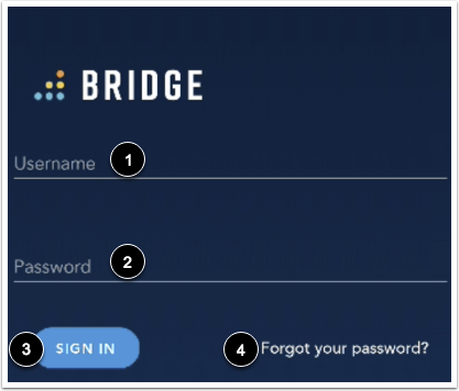 Enter Login Credentials