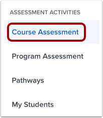 Open Course Assessment