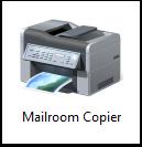 Mailroom copier icon