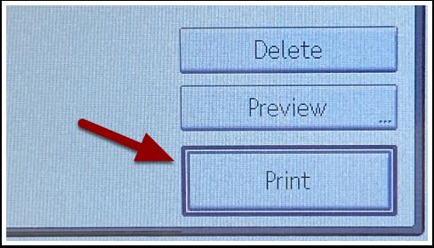 Print icon detal