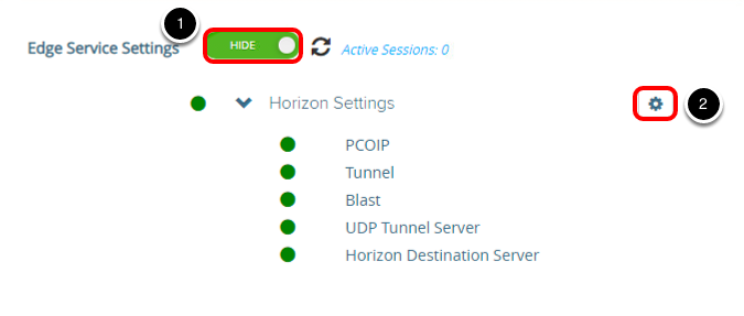 Acessing Reverse Proxy Settings
