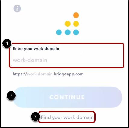 Enter Work URL