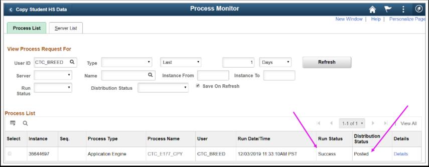 Process Monitor Page image