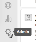 Click Admin Sprocket.