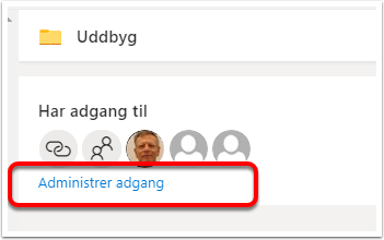 Delt af mig – OneDrive – Google Chrome