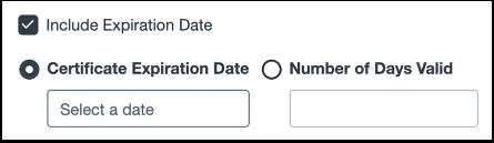 Add Expiration Date