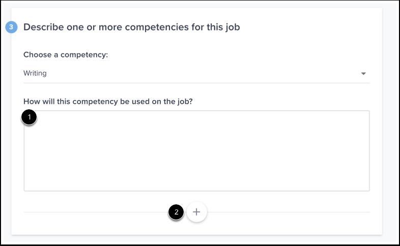 Add Competencies