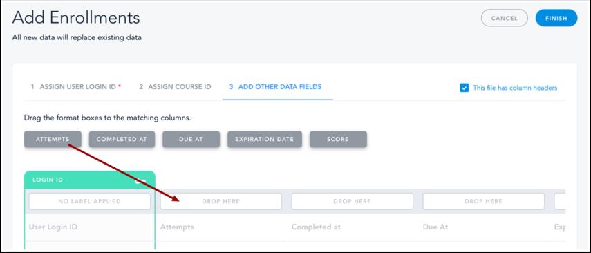 Add Other Data Fields