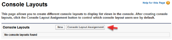 Create a New Console layout