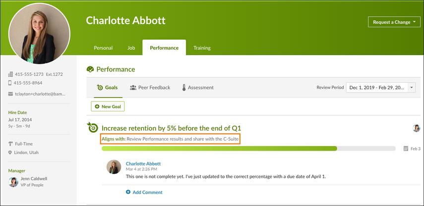 Charlotte Abbott - Performance