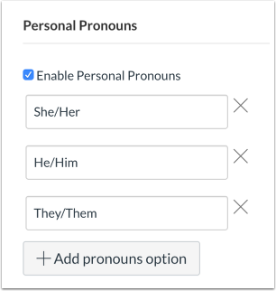 View Personal Pronouns