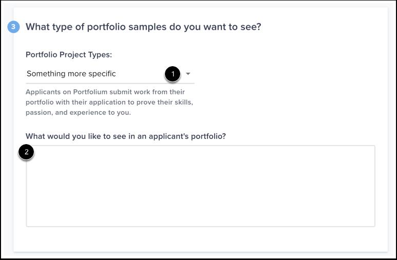 Set Portfolio Project Types