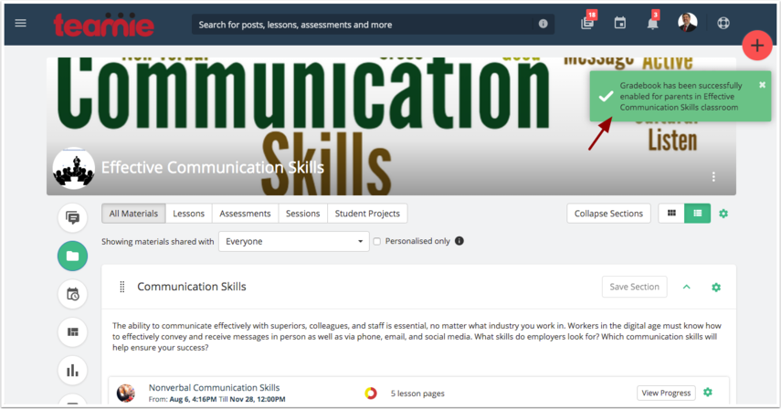 (3) Materials | Effective Communication Skills | Teamie Next