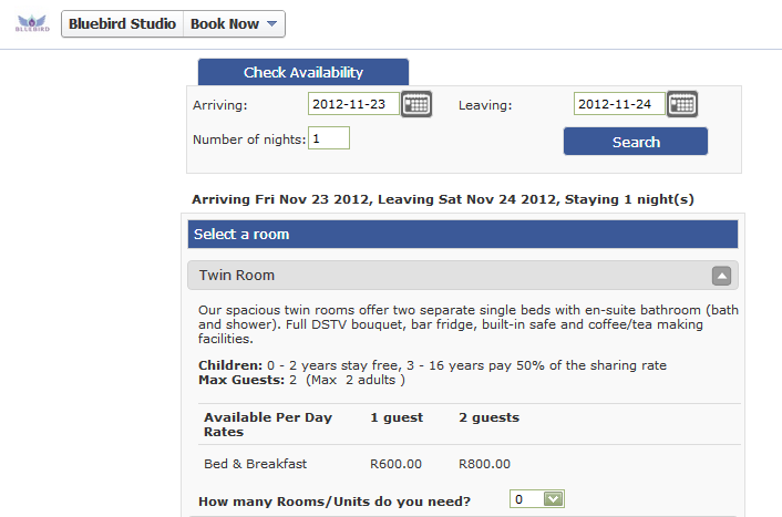 Visitors to your page will now be able to check availability and book from your Facebook page