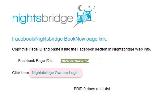 Click on NIGHTSBRIDGE OWNERS LOGIN