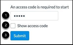 Enter Access Code