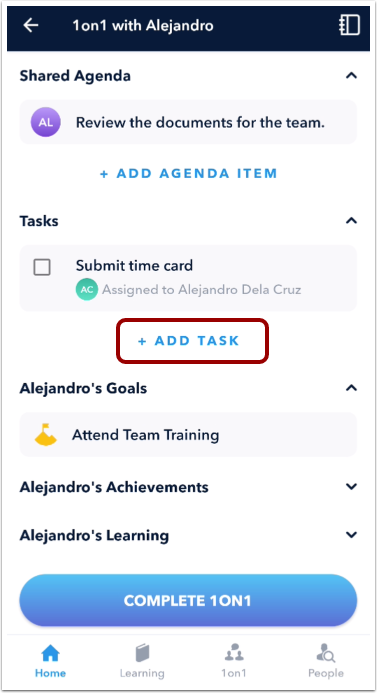 Add Task Item