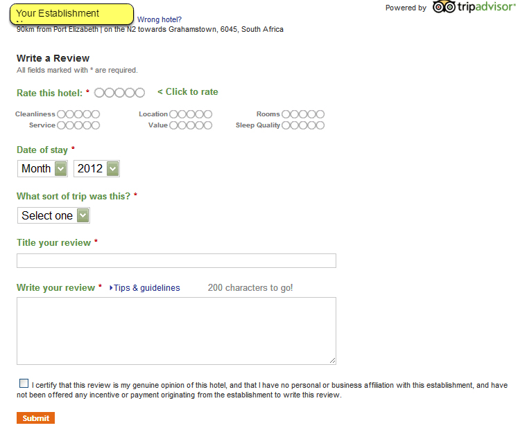 STEP 4: Guests Click on Link To Review Your Property