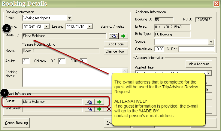 Which E-Mail Address is Used for the Mail?