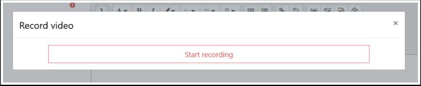 Start recording window