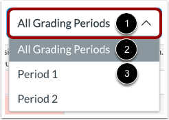 View Grading Period