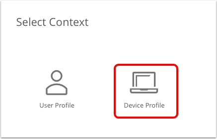 Devices > List View